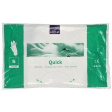 Abena Handschoenen Plastic wegwerp maat
