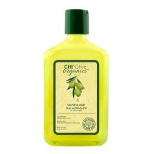 CHI Olive Organics - Olive & Silk Hair and Body Oil