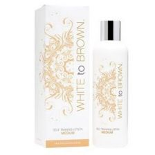 Whitetobrown Self Tanning Lotion Medium 250ml