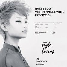 Alter Ego HASTY TOO - Volumizing Powder promotion