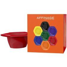 Affinage Service Coloured Stackable Bowl Set 7pcs
