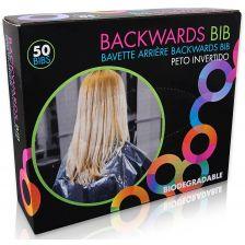 Framar Backwards Bibs Clear 50pcs