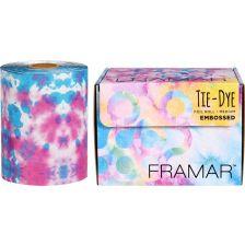 Framar Tie Dye Embossed roll foil