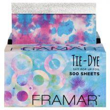 Framar Tie Dye Pop up foil - 500 Sheets