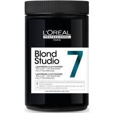 L'oreal Blond Studio Clay Powder 7T 500gr.