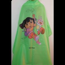 Nebur 1022 Kinderkapmantel Dora Jungle Groen