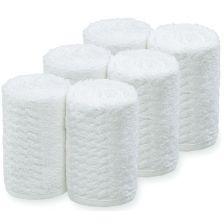 Sibel Take Care Handdoeken 6st Wit Barburys 3500261