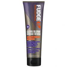 Fudge Clean Blonde Damage Rewind Violet Shampoo