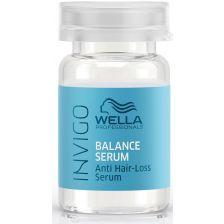 Wella Invigo Balance Serum Hair Loss Treatment 8x6ml